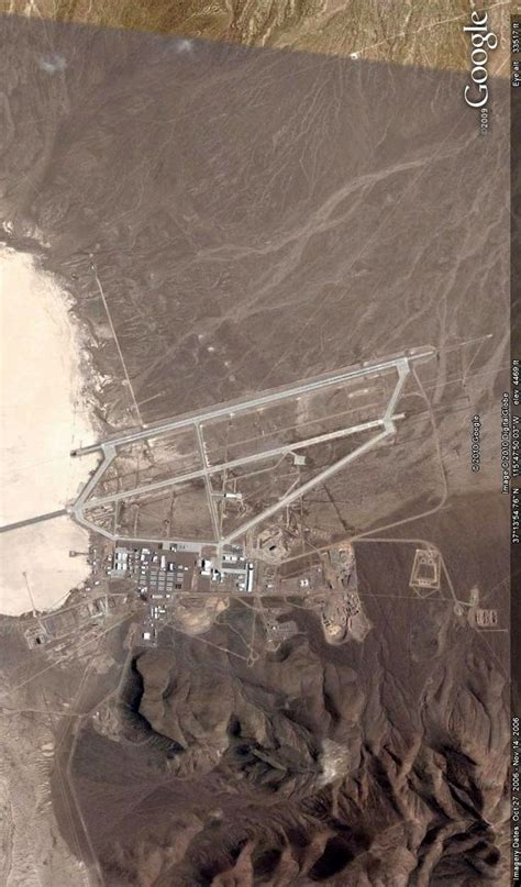 Area 51, Nevada. Image from Google Earth. | Aliens and ...