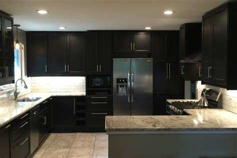 ikea black kitchen cabinets an ikea kitchen renovation for serious chefs with style 4419