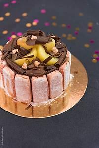 Recette Charlotte Poire Chocolat : charlotte poire chocolat et biscuits roses de reims ~ Melissatoandfro.com Idées de Décoration