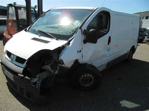 siege avant droit banquette renault trafic ii phase 1 fourgon diesel