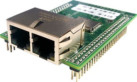 Dual Ethernet Module Operates Independent Ports