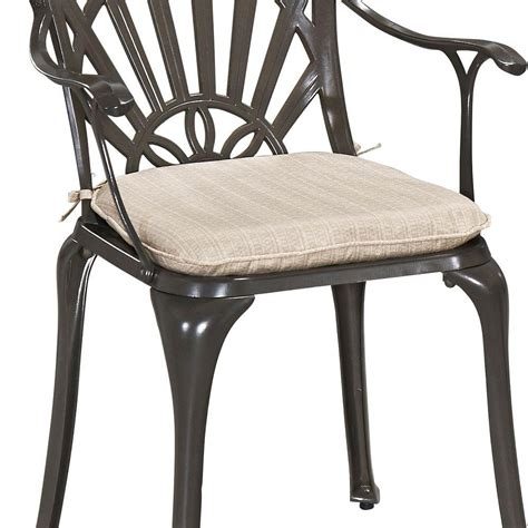 home styles gray outdoor dining chair cushion 5561 cus