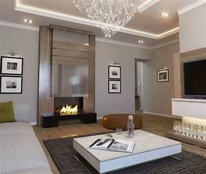 Moderne Deckenleuchten Für Wohnzimmer : beispiele f r wohnzimmergestaltung ~ Bigdaddyawards.com Haus und Dekorationen
