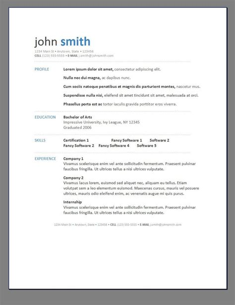 13177 modern resume templates word modern resume posts related to resume template modern 1