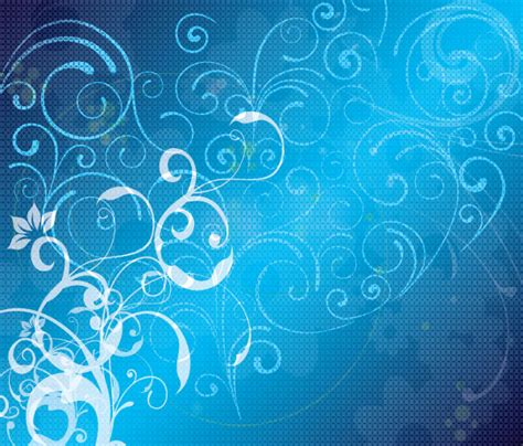 blue background designs abstract blue floral vector background design download