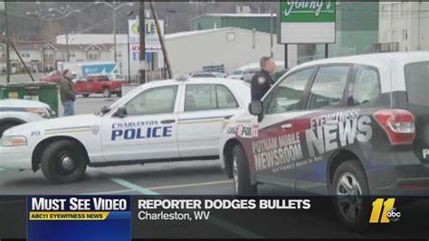Reporter Dodges Bullets