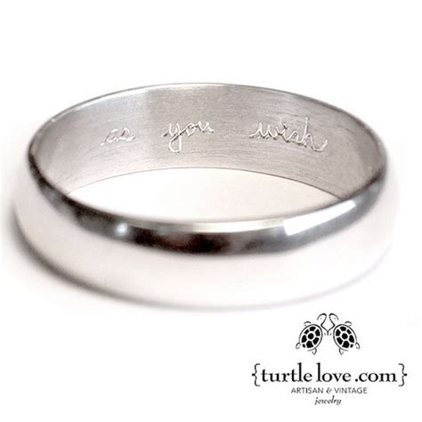 turtle love now has special wedding ring engraving