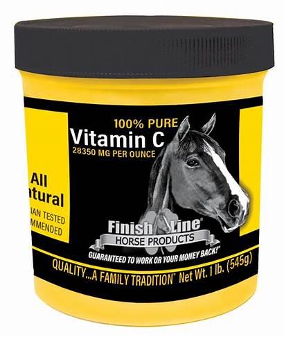 Pure Vitamin Horse Line Finish Vitaminc Supplements