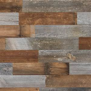 Shop artis wall 20 sq ft original reclaimed wood wall for Barnwood plywood