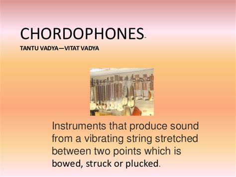 Presentetion on Different Types of Musical Instruments of