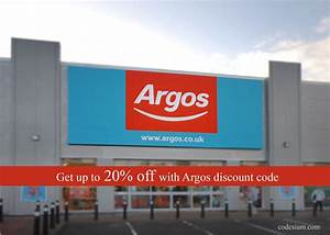 Up  U00a35 And 10  Off At Argos With Discount Codes