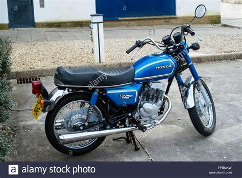 Motor Cb 125 Classic by The Classic Honda Cd200 Benly Motor Bike Stock Photo