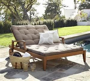 Chaise Longue Piscine : chaise longue de jardin en bois ~ Preciouscoupons.com Idées de Décoration