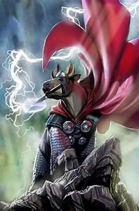 Portrait, Thor, Cow