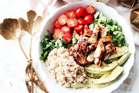maxi cuisine recette salade composée au poulet au miel