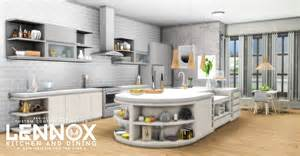 my sims 4 blog updated lennox kitchen and dining set by