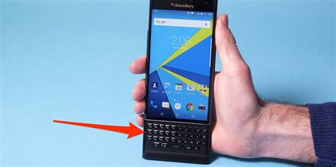 new blackberry phone new blackberry priv phone with android business insider