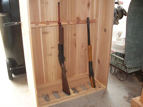 diy gun rack plans gun cabinet building plans free diy blueprint plans