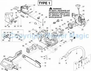 35 Eager Beaver 20 Chainsaw Parts Diagram