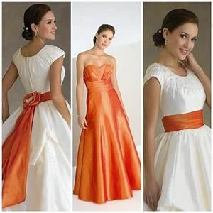 Brautkleid Mit Farbe : tolle ideen f r die hochzeit brautkleid in apricot farbe ~ Frokenaadalensverden.com Haus und Dekorationen