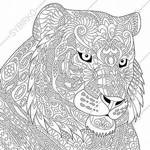 Tiger Coloring Page Animal Coloring Book Pages For