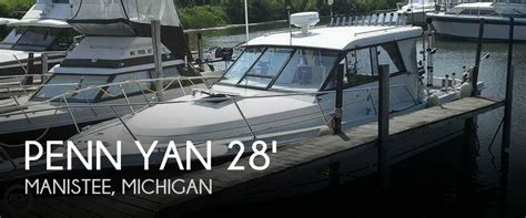 Boats For Sale In Manistee Michigan by Sold Penn Yan 288 Predator Boat In Manistee Mi 100888