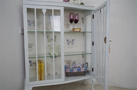 shabby chic display cabinets vintage shabby chic display cabinet painted vintage antique farmhouse furniture