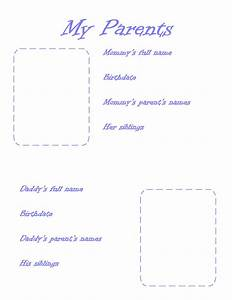 family picture page With free printable baby book templates