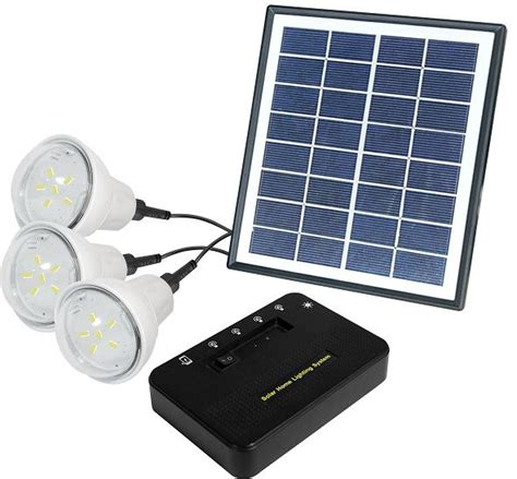 Solar Home Lighting System  3 Bulbs, Price, Review And