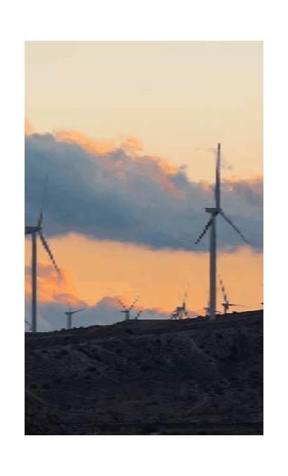 Wind Turbine Energy Gifs Natural