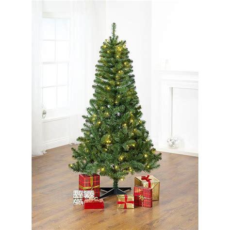 asda pre lit xmas trees 6ft 180cm traditional tree pre lit asda