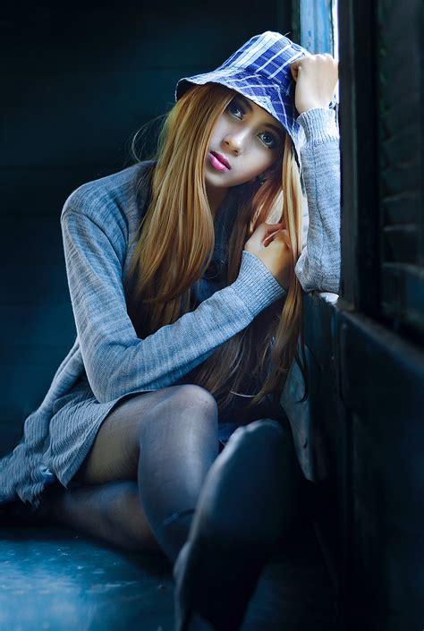 stock photo  adolescence attractive beautiful