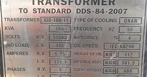 Transformer Nameplate Rating