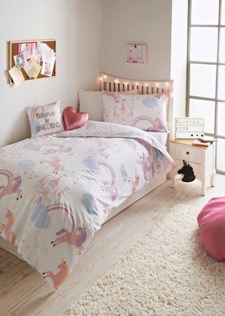 girls unicorn bedroom collection matalan home decor