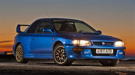 subaru impreza a look back at the auction of this holy grail subaru