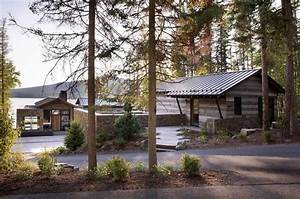This, Mountain, Modern, Lakefront, Home, In, Montana, Is, All, About, Zen
