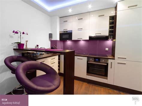 adhesif pour porte de placard cuisine fioletowa kuchnia od pomysłu do realizacji farby śnieżka