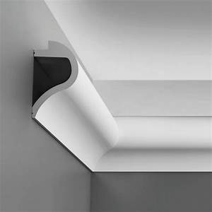 Corniche Eclairage Indirect : corniche moulure de plafond axxent orac decor pour eclairage indirect c364 ~ Melissatoandfro.com Idées de Décoration