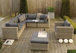 Mobilier De Terrasse Table Ronde Jardin Maison Email