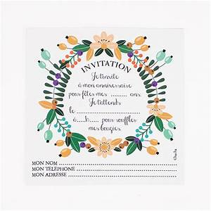 papeterie cartons d39invitation fleur anniversaire With affiche chambre bébé avec fleurs anniversaire de mariage