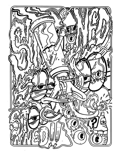 Weed Coloring Pages at GetDrawings | Free download