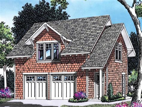 Appartment Plan by Garage Plan With Apartment Above 69393am Architectural