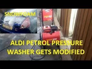 Aldi Workzone Titanuim Petrol Pressure Washer