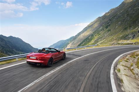 Jaguar F-type On The World's Greatest Driving Road