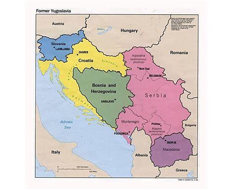 maps  yugoslavia collection  maps