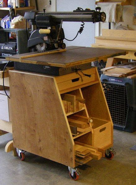 radial arm  stand woodworking radial arm