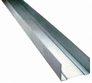 Rail Placo Brico Depot : rail en acier galvanis l 3 m x p 48 mm brico d p t ~ Dailycaller-alerts.com Idées de Décoration