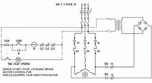 How Do Apply A Brake In A 3 Phase Induction Motor  3 Wire