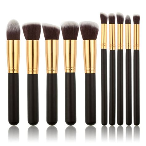 unicorn brush set 10 kabuki brush set my make up brush set us