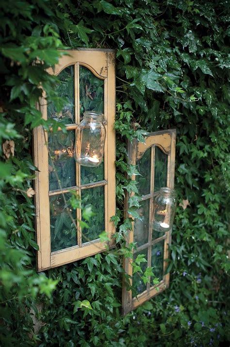 alte fenster zur dekoration im haus 50 coole ideen - Alte Fenster Deko